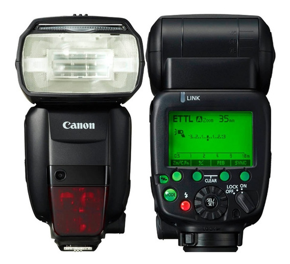 Flash Canon Speedlite 600ex - Rt