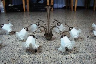 Lampara Decorativa De Techo De 6 Focos