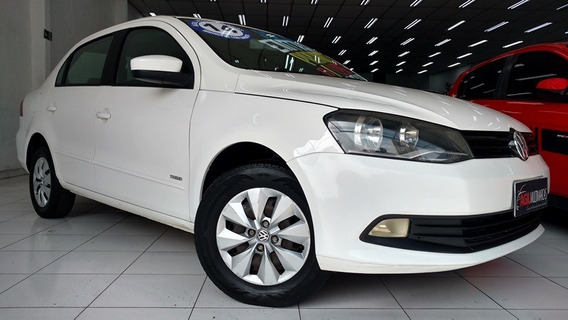 Volkswagen Voyage 1.0 8v Flex 2014 Branco Completo
