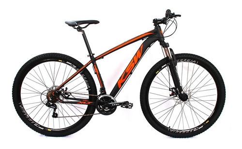 Imagem 1 de 5 de  Bicicleta Aro 29 Alum Mtb 24m Ksw | Modelo Xlt Freio Disco