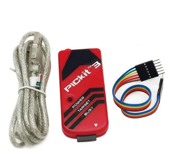 Pickit 3 Programador Gravador Usb De Pic Microchip Pickit3