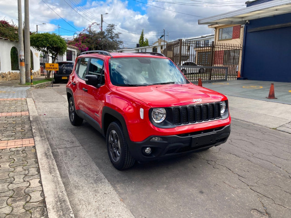 Jeep Renegade Sport X Mt 2020 Rojo Adrenalina