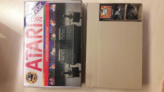 Atari 2600 Polivox Na Caixa Impecavel
