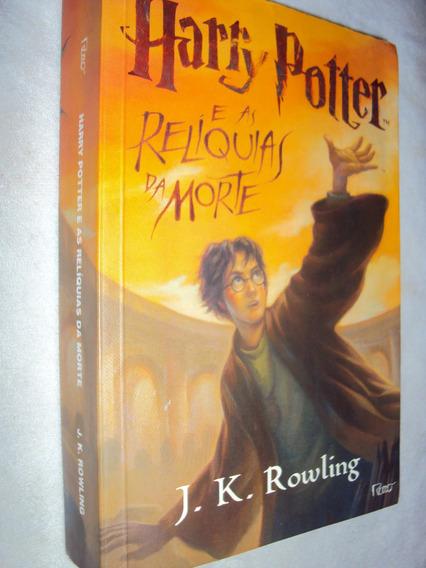 Harry Potter E As Relíquias Da Morte (sebo Amigo)