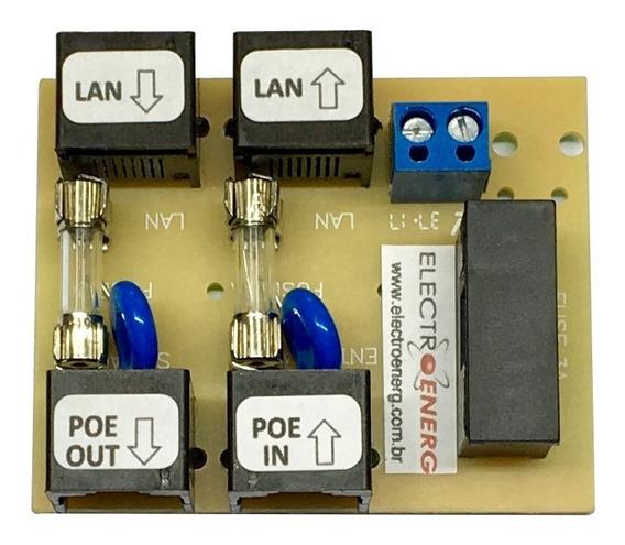 Placa Pd Poe Simples 2 Plugs