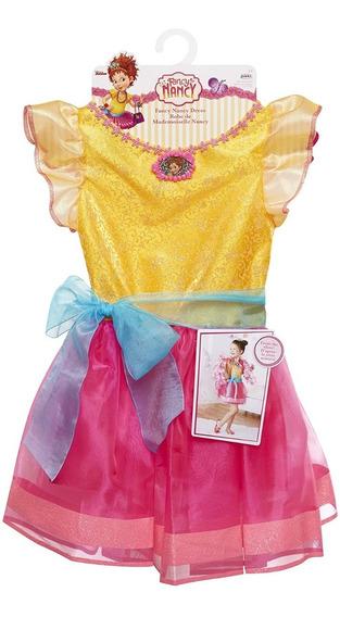 Vestido Exclusivo De Fancy Nancy Para Niña 4-6 Años