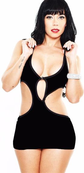 Mini Vestido Sexy Malha Importada 6044 - Ropahrara