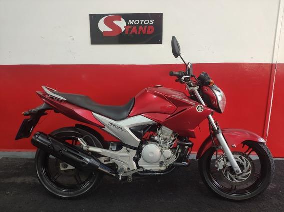 Yamaha Fazer Ys 250 2013 Vermelha Vermelho