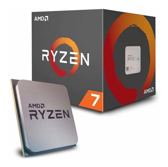 Amd Ryzen 7 2700x Con Wraith Prism Led Cooler - Yd270xbgafbo
