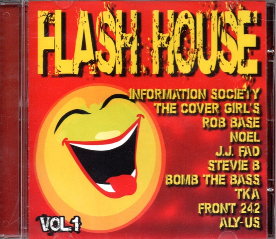 Cd Flash House - Vol.1