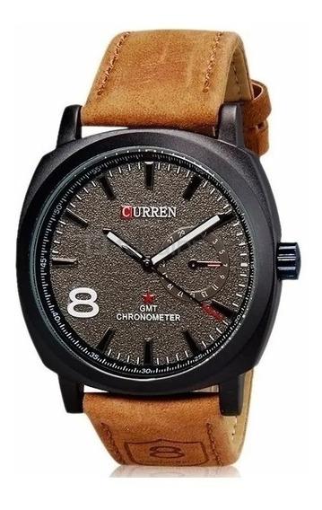 Relógio Curren 8139 Masculino Luxo Esportivo Original Barato