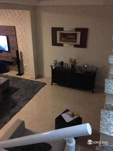 Imagem 1 de 9 de Sobrado Com 3 Dormitórios À Venda, 226 M² Por R$ 450.000,00 - Jardim Mirante Dos Ovnis - Votorantim/sp - So0021