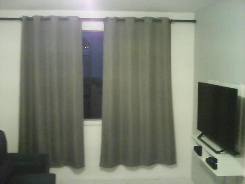 Apartamento Com 1 Dormitório À Venda, 40 M² Por R$ 90.000,00 - Centro - São Vicente/sp - Ap6292