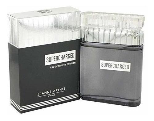 Supercharged By Jeanne Arthes Eau De Toilette Spray ***** Oz
