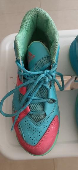 Zapatillas Basket adidas Aq8502 Usadas Impecables