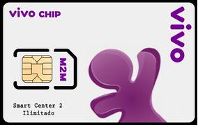 Chip M2m Vivo Tim+plataforma+aplicativos