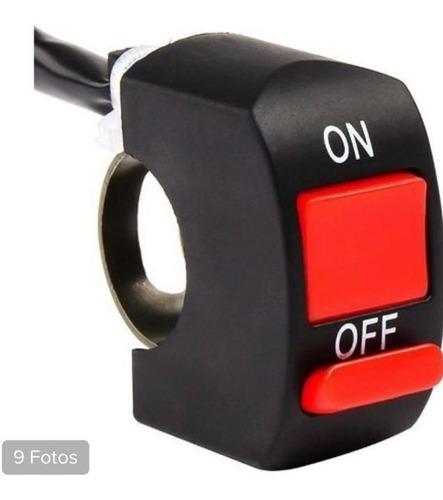 Botão Interruptor  Liga/desliga Ventoinha Spal