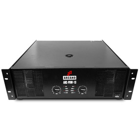 Potência Para Áudio Arcano Arc-pdw-13 220v Com Riscos De Uso