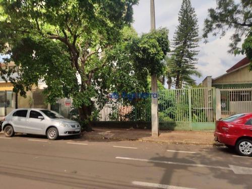 Terreno À Venda Com Casa De Madeira, 460 M² Por R$ 400.000 - Centro - Londrina/pr - Te0485