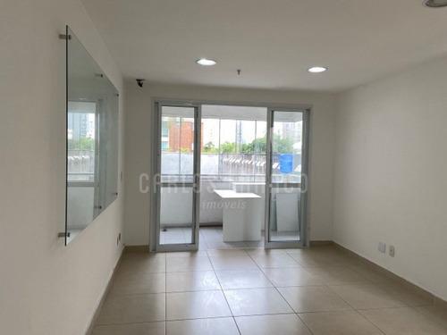 Imagem 1 de 5 de Sala Comercial, Com 34m², Varanda, 2 Banheiros, Ar Condicionado, 1 Vaga - Rua Paes Leme - Pinheiros - Cf65635