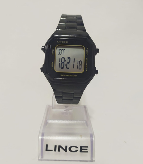Relógio Digital Lince Sdn617l Bxpx