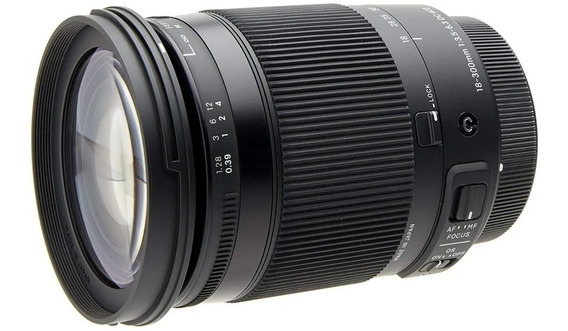 Lente Sigma 18-300mm F/3.5-6.3 Dc Macro P/ Canon