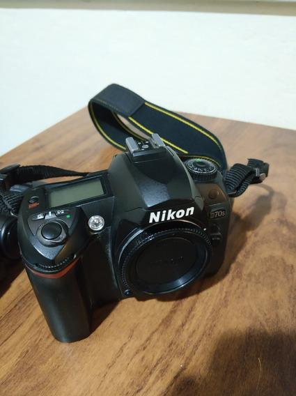 Câmera Nikon D70s - (lente Necessita De Reparo)