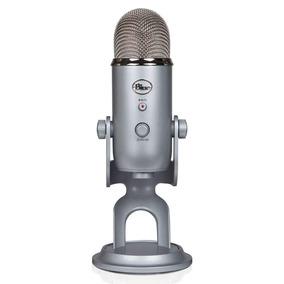 Microfone Blue Yeti Usb Condensador Prata