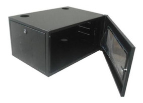 Gabinete Bracket Mini Rack Servidor 5u X 380mm Preto