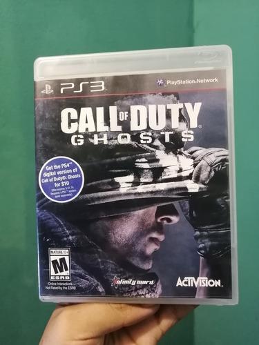 Call Of Duty Ghosts Playstation 3 Ps3 Nuevo Y Sellado