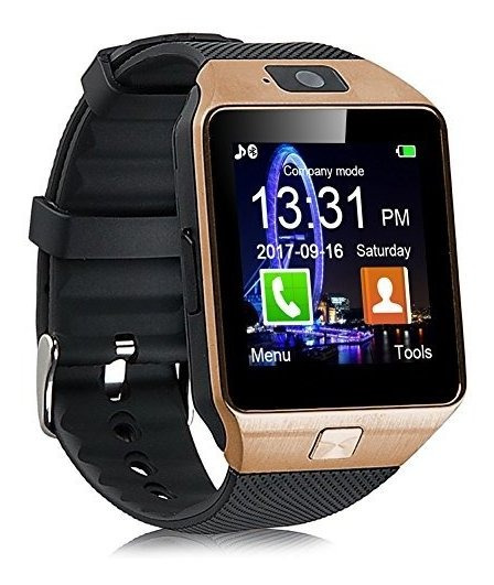 Padgene Dz09 - Reloj Inteligente Con Bluetooth, Pantalla Tác