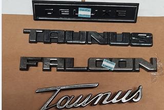Insignia Emblema Falcon Taunus Deluxe