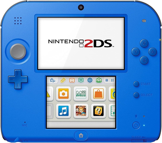 Nintendo 2ds Desbloqueado - Envio Com Jogos À Sua Escolha