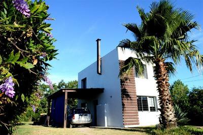 Casa Pinamar Sur, Nueva, En Dos Plantas, Próximo Al Mar