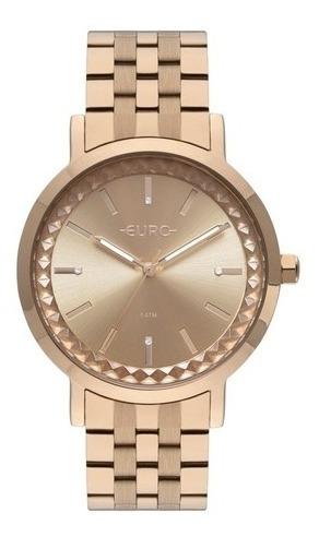 Relógio Euro Feminino Minimal Spike Rosé Eu2036yor/4j