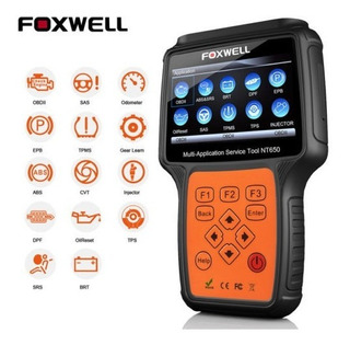 Escaner Automotriz Foxwell Obd2 Nt 650 Elite