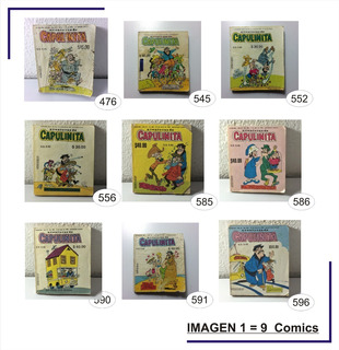 Capulinita Aventuras De Capulinita Comic $120 Cada Uno
