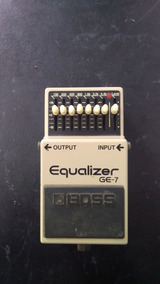 Pedal Boss Ge-7 Analógico Guitarra Equalizador Booster