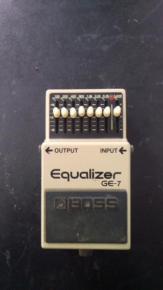 Pedal Boss Ge-7 Analógico Guitarra Equalizador Booster