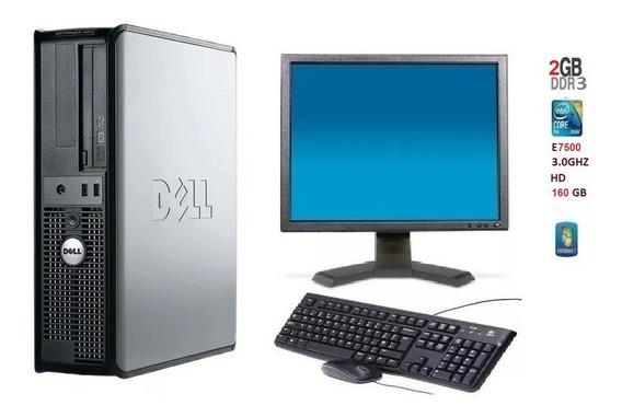 Computador Dell Optplex 360 Core 2 Duo E7500 2 Gb De Ram Hd