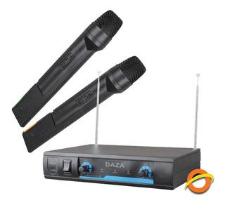 Microfono Inalambrico De Mano Karaoke Gran Alcance Sonido
