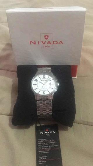 Reloj Nivada Diplomat Modelo Np10057m Totalmente Nuevo.