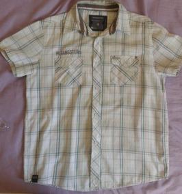 Camisa Xadrez Masculina Infantil - Gangster Perfeito Estado