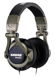 Auricular Especial Dj Shure Srh550 Dj Profesional