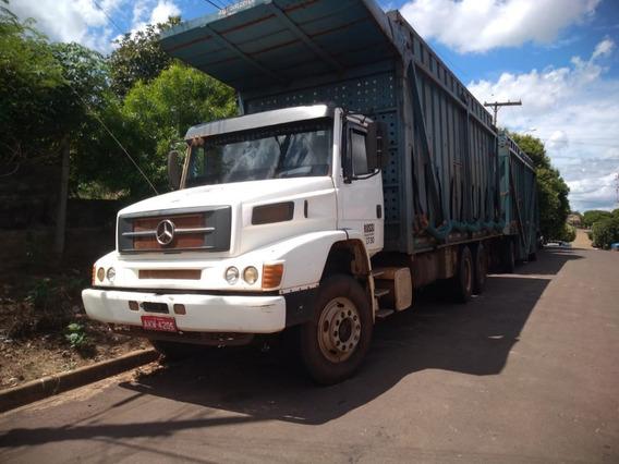 Mercedes Mb 2638 6x4 Canavieiro Traçado 2003 R$ 100.000.