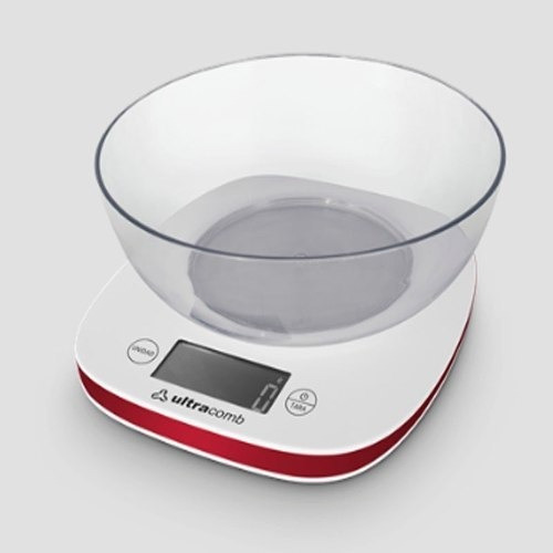 Balanza Ultracomb De Cocina Digital Con Bowl Lcd Bl-6002