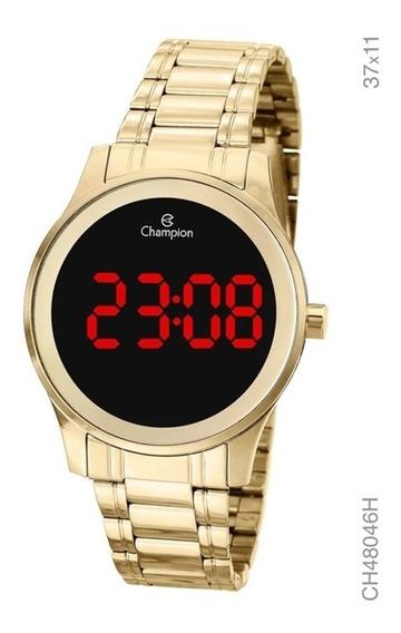 Relógio Champion Digital Led Feminino Ch48046h