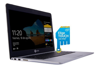 Ultrabook Exo Intel Core I3 Táctil 4gb 480gb Ssd 14
