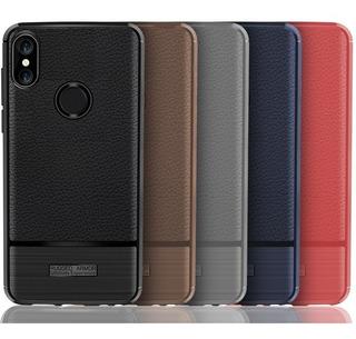 Funda Lujo Xiaomi Mi A3 A2 A1 Redmi Note 7 5 6 Pro Plus Piel