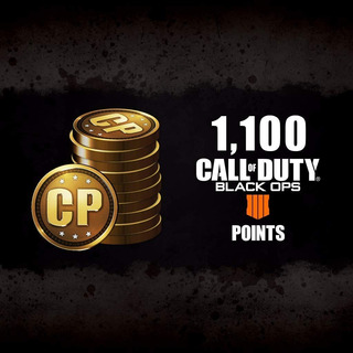 Call Of Duty: Black Ops 4 - Cod Points 1100 - Ps4